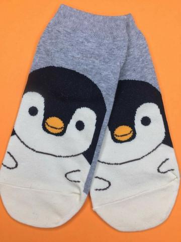 Iloinen pingviini sukat