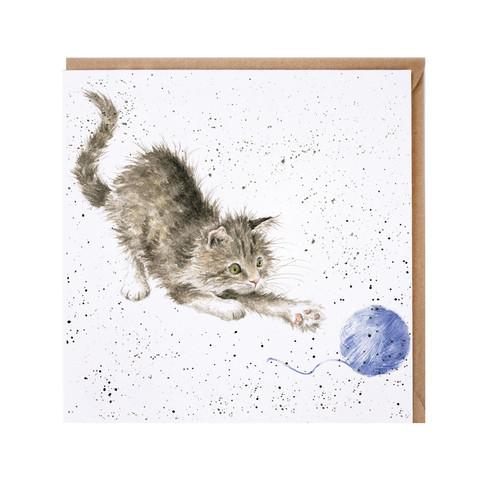 Wrendale kissa-kortti