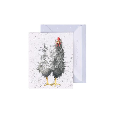 Wrendale kana-minikortti