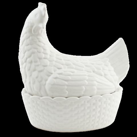 Valkoinen hautova kana