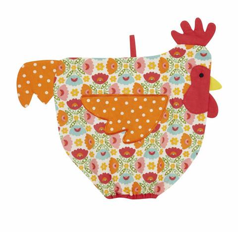Muovipussipiilo värikäs kana