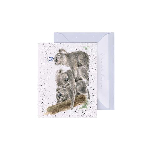Wrendale koalat-minikortti