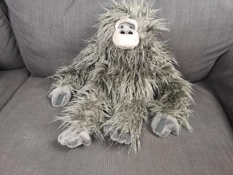 Harmaa karvainen apina