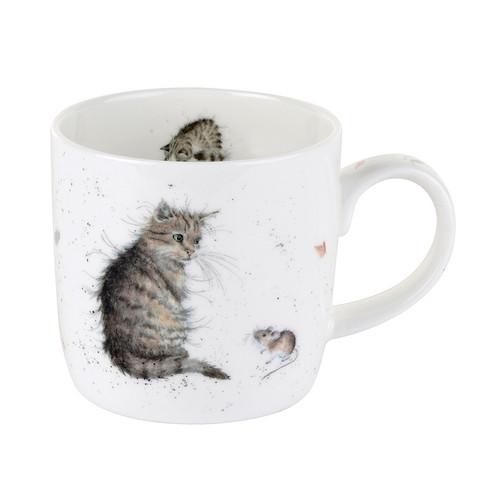 Wrendale kissa ja hiiri muki
