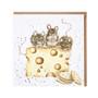 Wrendale hiirulaiset juustossa kortti