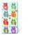 Värikkäät pöllöt nenäliina