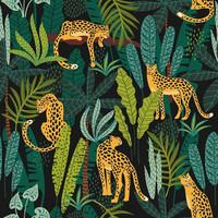 Leopardi ruokaservetti