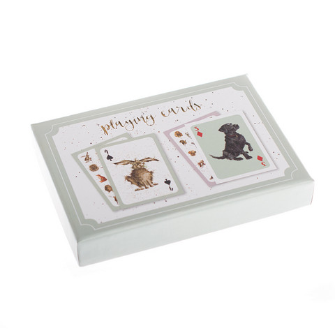 Wrendale eläinpelikorttipakkaus