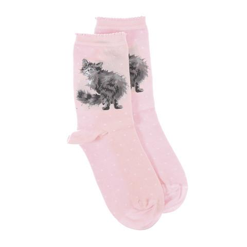Wrendale pörrökissa sukat