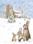 Wrendale joulukalenterikortti puput