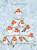 Wrendale joulukalenterikortti punarinnat