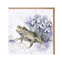 Wrendale sammakko kortti