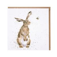 Hassu kani ja mehiläinen kortti