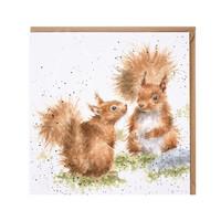 Wrendale oravat kortti