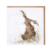 Hassu kani ja kissankellot kortti