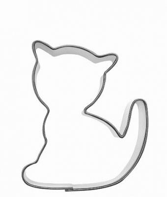 piparkakkumuotti pikkuinen kissa