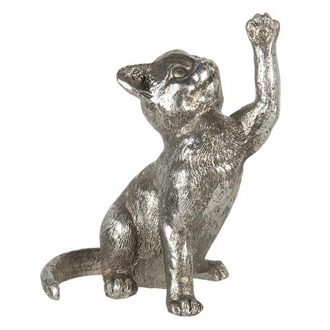 Hopeanvärinen kissapatsas