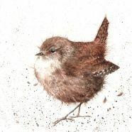 Wrendale lintunen kortti