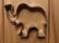 Piparkakkumuotti elefantti