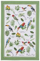 Keittiöpyyhe trooppiset linnut