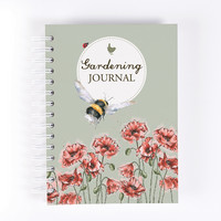 Wrendale Gardening Journal kierrevihko