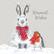 Wrendale kani ja punarinta luksuskorttipakkaus
