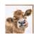 Wrendale ruskea lehmä kortti