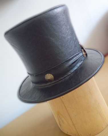 Steampunl Style Hand Made Italian Top Hat