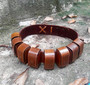 Bounty Hunter Utility Belt Bag / Handmade / Special Oil Tanned Leather