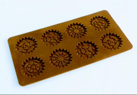 SteamPunk style Gear Silicone Mould