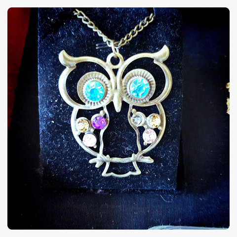 Owl decor pendant