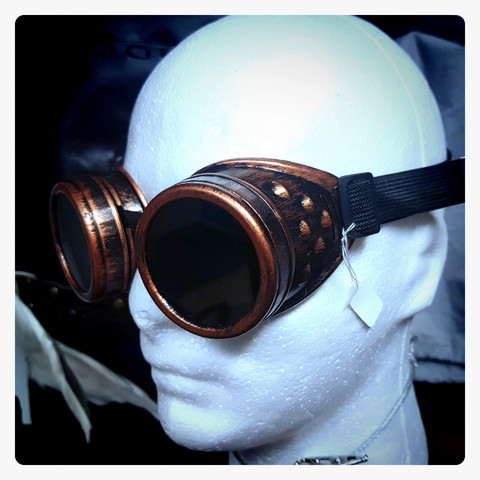 Goggles Basic Model in Steampunk and Post Apocalyptic style