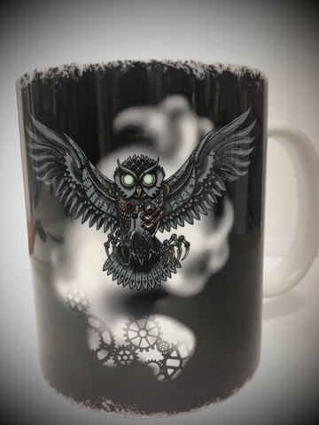Mechanical Owl Muki by Bard & Jester