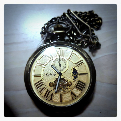 Mechanical Automatic Pocket Watch