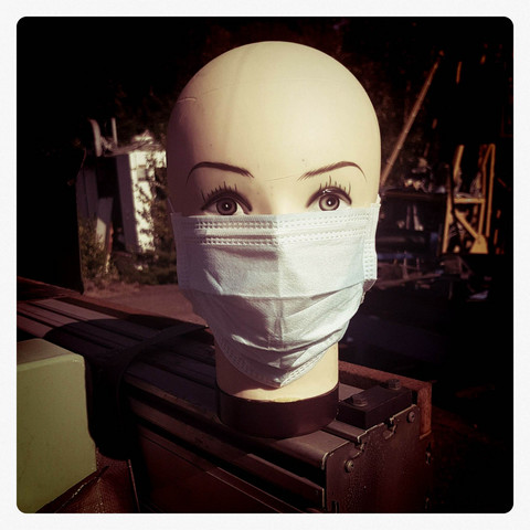 Replaceable layered mask