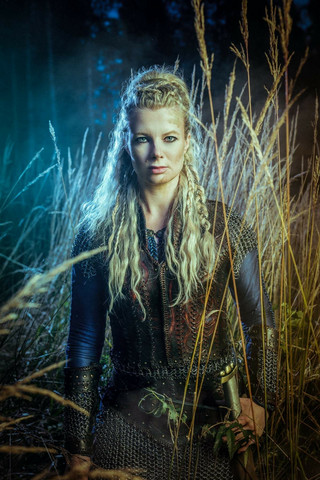 Viking Lady Haarniska setti - Lagertha tyylinen panssari