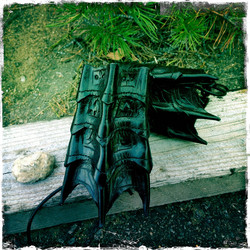 Fantacy Bracers / Black Wing