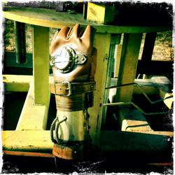 SteamPunk Compassa Glove Bracer