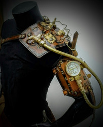 SteamPunk Brass Pump