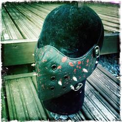Maski PU nahkaa erikoiskoristein / Post Apocalyptis tyylinen / Hard Core