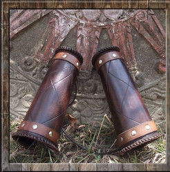 Viking Made Bracers - Medieval Bracers