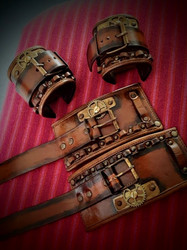 SteamPunk Cuff / Wdesign