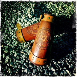 SteamPunk Wheel Bracers