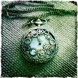 Big Pocket Watch -  Steampunk Decor