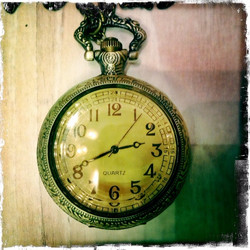 Big Pocket Watch - Transparent cover