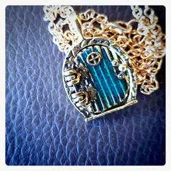 Fantasy Door Neclace /  locket