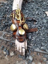 Deluxe Steampunk Harpoon & Time Traveller Cuff : Viator Forti Model II DLX