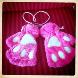 Pehmo Kissa/Eläin tassu hanskat