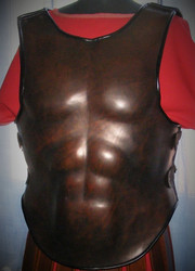 Muscular Leather Body Armour, Roman style, Warrior style