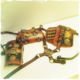 Steampunk Armor shoulder and full arm with special decorations, Deluxe Model